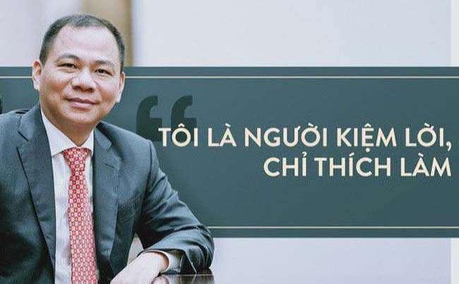 Những câu nói nổi tiếng của Phạm Nhật Vượng