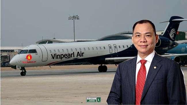Vingroup tiếp tục mở rộng hoạt động kinh doanh của mình bằng cách ra mắt thương hiệu hàng không Vinpearl Air