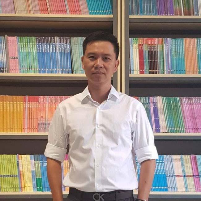 Ông Đinh Thái Nguyên - Giám đốc Yeah1 Vision 1 - cựu học sinh năm 1993 - 1996