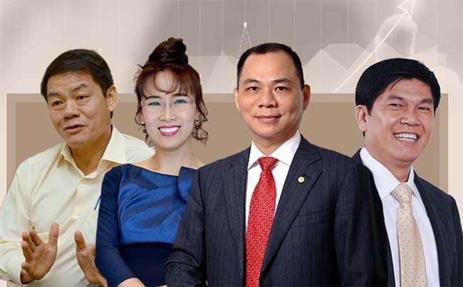 4 tỷ phú Việt Nam được tạp chí Forbes công nhận năm 2018