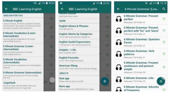 App học tiếng Anh BBC Learning English