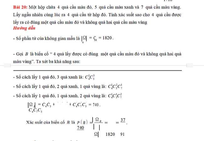Bài 20