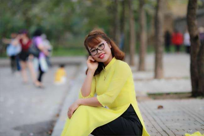 Cô Trần Thu Hoa, giáo viên tiếng Việt