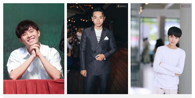 Gin Tuấn Kiệt, Phạm Hồng Phước và Cao Bá Hưng