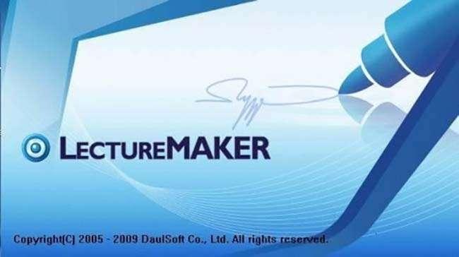 Lecture Maker phần mềm soạn thảo bài giảng đa phương tiện