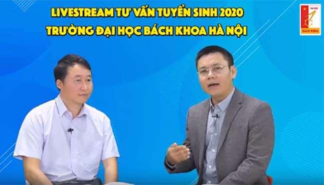 Phó giáo sư, Tiến sĩ Trần Trung Kiên, Trưởng phòng Tuyển sinh Đại học Bách khoa Hà Nội