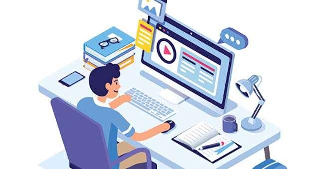 Quá trình triển khai  dạy học qua Internet