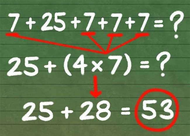 Quy đổi số cộng khó thành số cộng dễ