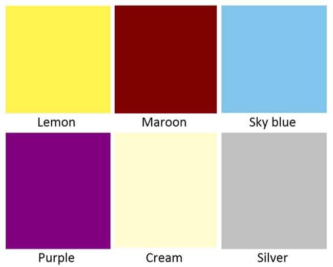 Từ vựng tiếng Anh về các màu sắc Phần 2