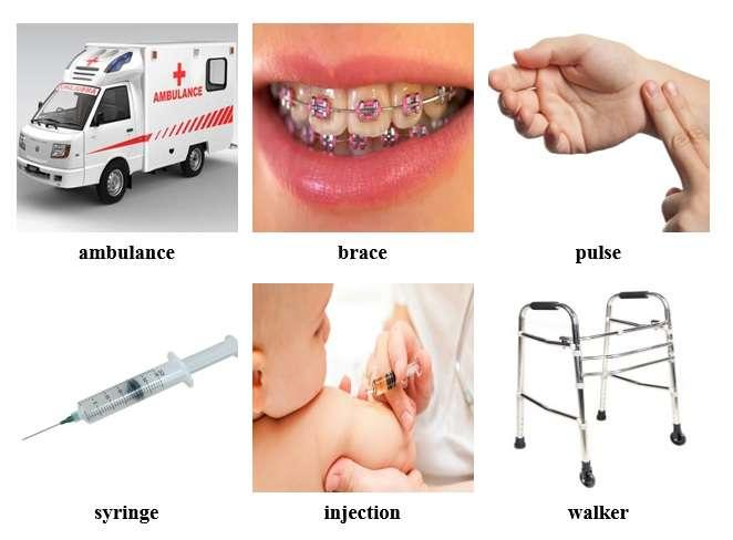 Từ vựng tiếng Anh về sức khỏe