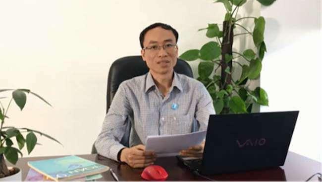 Thầy Hồng Trí Quang khuyên học sinh cần duy trì thói quen tự học tại nhà