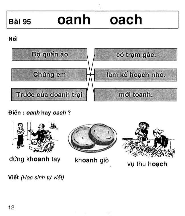 Bài 95 oanh oach
