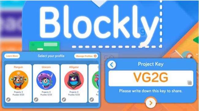 Blockly là ngôn ngữ lập trình của Google