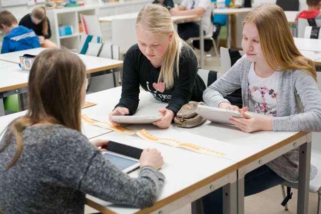 Học sinh Phần Lan không phải thi cử