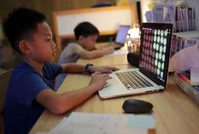 Học sinh Singapore học tại nhà