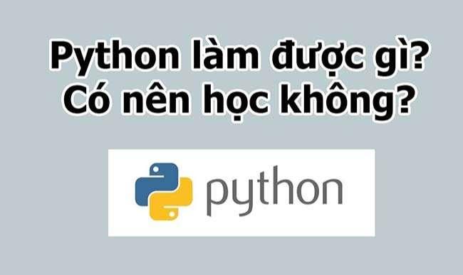 Ngôn ngữ lập trình Python là lựa chọn hoàn hảo cho các bạn nhỏ