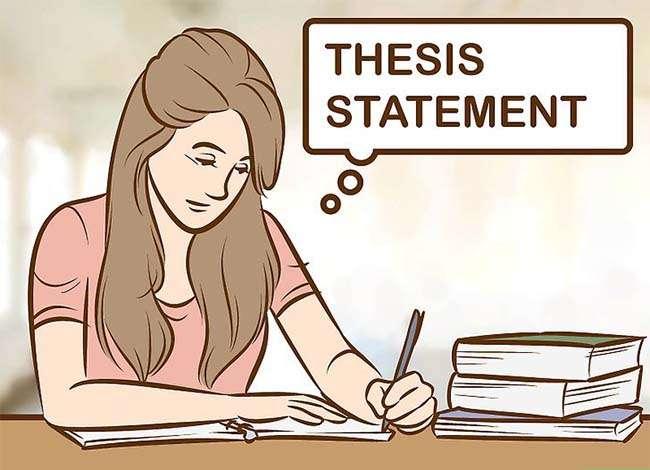 Phát triển câu thể hiện luận điểm (thesis statement) hoặc lập trường