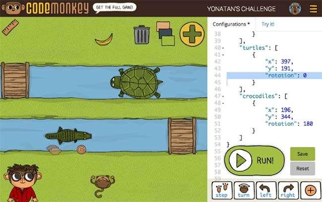 Phần mềm Code Monkey hữu ích trong việc học lập trình của trẻ nhỏ
