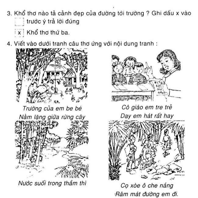 Tập đọc Đi học 1