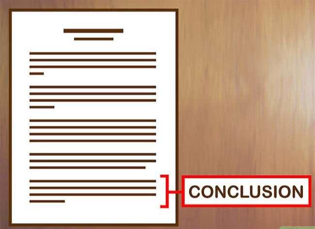 Viết kết bài cho bài tiểu luận