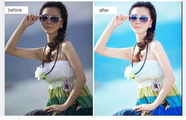 Biến đổi màu (blend, retouch màu) bức ảnh