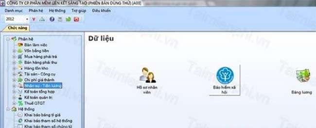 Phần mềm kế toán LinkQ Accounting
