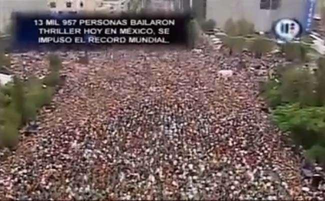 13.957 người nhảy theo ca khúc Thriller của Michael Jackson tại Mexico