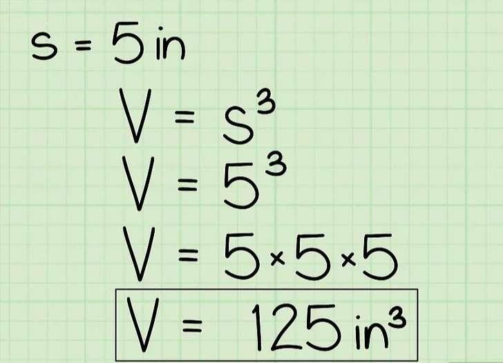 Cần đảm bảo rằng bạn viết đơn vị đo theo khối (mũ 3 của đơn vị đo)