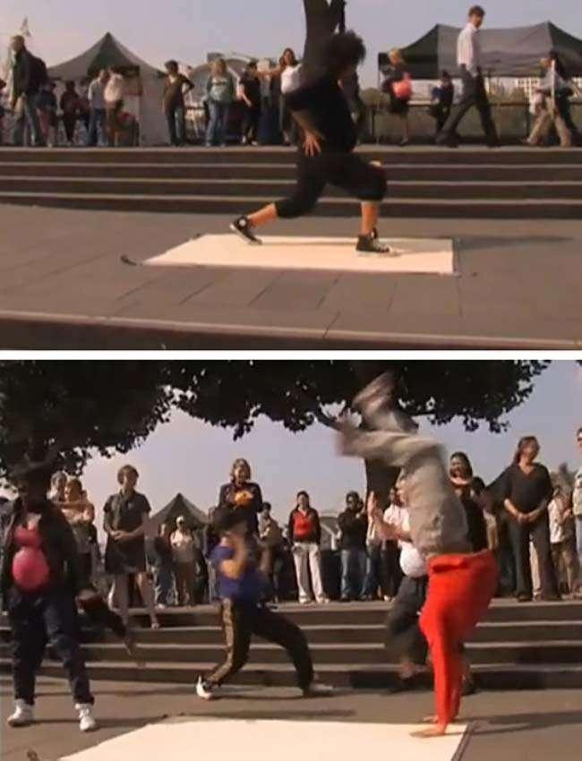 Flashmob với các bà bầu nhảy breakdance tại London