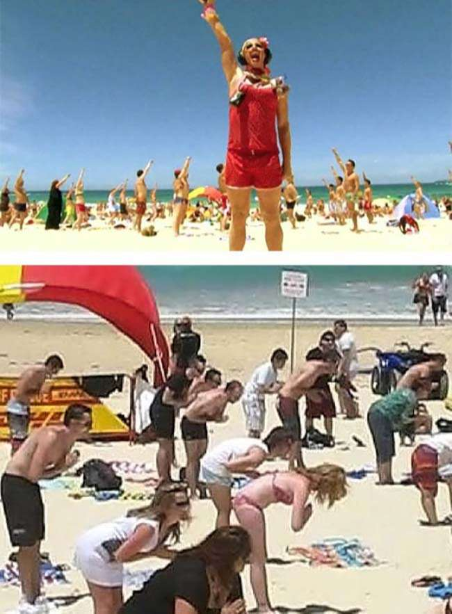 Flashmob vui nhộn tại Australia